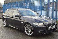2012 BMW 5 SERIES 2.0 520D M SPORT TOURING 5d AUTO 181 BHP £11495.00