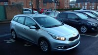 USED 2013 63 KIA CEED SW 1.4 CRDI 990 1 ONLY 16174 MILES!CHEAP TO RUN , LOW ROAD TAX AND EXCELLENT FUEL ECONOMY!..GOOD SPECIFICATION INCLUDING AIR CONDITIONING, AUXILIARY/ USB INPUT