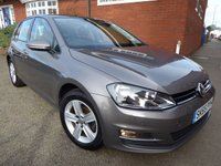 2015 VOLKSWAGEN GOLF 1.4 MATCH TSI BLUEMOTION TECHNOLOGY 5d 121 BHP £11300.00