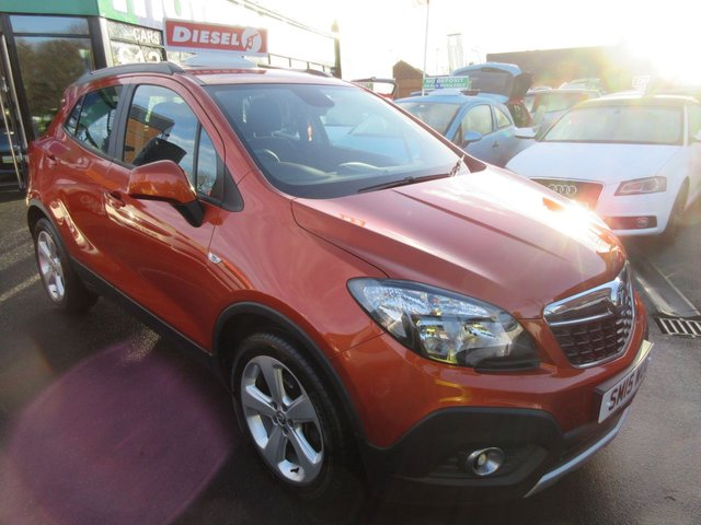 USED 2015 15 VAUXHALL MOKKA 1.6 EXCLUSIV CDTI S/S 5d 134 BHP ***JUST ARRIVED...TEST DRIVE TODAY***NO DEPOSIT DEALS