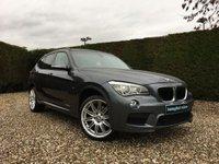2013 BMW X1 2.0 XDRIVE20D M SPORT 5d 181 BHP £12995.00