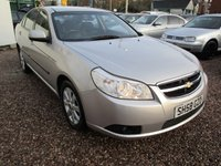 USED 2008 58 CHEVROLET EPICA 2.0 LS VCDI 4d 148 BHP LOW MILEAGE 66k, ALLOYS, TOW BAR, HPI CLEAR, 2 REMOTE KEYS