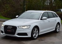 USED 2013 13 AUDI A6 AVANT 2.0 AVANT TDI S LINE 5d 175 BHP ***FULL LEATHER*** ***SATELLITE NAVIGATION***