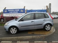USED 2006 06 FORD FIESTA 1.2 ZETEC 16V 5d 78 BHP 10 Stamps Of Service History .New MOT & Full Service Done on purchase + 2 Years FREE Mot & Service Included After . 3 Months Russell Ham Quality Warranty . All Car's Are HPI Clear . Finance Arranged - Credit Card's Accepted . for more cars www.russellham.co.uk  - Spare Key-Book Pack