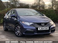 2014 HONDA CIVIC 1.6 i-DTEC S 5 DOOR 118 BHP £7000.00