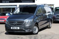 2016 MERCEDES-BENZ VITO 2.1 114 BLUETEC AUTO LWB PANEL VAN 1d 136 BHP AUTOMATIC £14990.00