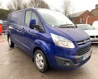 USED 2016 65 FORD TRANSIT CUSTOM 2.2 290 LIMITED LR P/V 1d 124 BHP