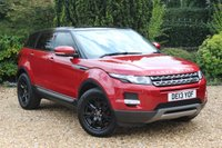 USED 2013 LAND ROVER RANGE ROVER EVOQUE 2.2 SD4 PURE TECH 5d 190 BHP