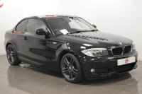 USED 2011 61 BMW 1 SERIES 2.0 123D M SPORT 2d AUTO 202 BHP LOW MILES + 2 OWNERS + SERVICE HISTORY + IMMACULATE ANTHRACITE ALLOYS