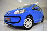 USED 2015 15 VOLKSWAGEN UP 1.0 MOVE UP 3 DOOR