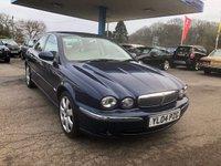 2004 JAGUAR X-TYPE 2.5 V6 SE 4d 195 BHP £2999.00