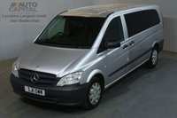 USED 2011 11 MERCEDES-BENZ VITO 2.1 113 CDI TRAVELINER 136 BHP EXTRA LWB 9 SEATER AIR CON MINIBUS NO VAT AIR CONDITIONING £10,990 NO VAT