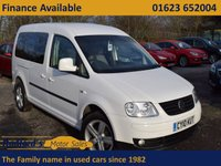 USED 2010 10 VOLKSWAGEN CADDY MAXI 1.9L MAXI LIFE TDI PD JUST IN AND BEING PREPARED!