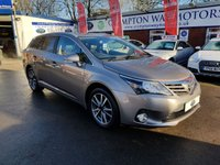 USED 2015 15 TOYOTA AVENSIS 2.0 D-4D ICON BUSINESS EDITION 5d 124 BHP 0%  FINANCE AVAILABLE ON THIS CAR PLEASE CALL 01204 317705