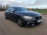 2015 BMW 4 SERIES 2.0 428I M SPORT 2d AUTO 242 BHP £19995.00
