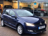 USED 2010 10 VOLKSWAGEN POLO 1.4 SEL DSG 5d AUTO 85 BHP Free MOT for Life