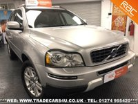 2010 VOLVO XC90 D5 SE LUX AWD DIESEL AUTO 4X4 7 SEATER £11995.00