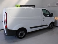 USED 2014 64 FORD TRANSIT CUSTOM 2.2 270 LR P/V 1d 99 BHP AMAZING VAN  WITH ONE OWNER AND  FULL SERVICE  HISTORY 4 STAMPS FINISHED IN BRIGHT WHITE,WITH IMMACULATE BODY WORK AND UNMARKED INTERIOR,  ELEC WINDOWS, REMOTE CENTRAL LOCKING, RADIO CD USB POINT, BLUETOOTH PHONE PREP FRONT AND REAR PARKING SENSORS, CARGO LINED, BULK HEAD,  JUST SERVICED READY FOR WORK.