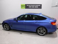 USED 2013 63 BMW 3 SERIES 2.0 320D M SPORT GRAN TURISMO 5d AUTO 181 BHP A REAL EXAMPLE OF A STUNNING AND VERY WELL LOOKED AFTER PRESTIGE CAR WITH ONE OWNER AND FULL HISTORY,  VEHICLE FINISHED IN GLEAMING ESTORIL BLUE WITH FULL HEATED BLACK LEATHER,  AIR CON,  FULL GLASS PANORAMIC SUN ROOF,  BUSINESS MEDIA PACK DAB RADIO CD WITH AUX/USB CONNECTIONS,  PARKING SENSORS, MOBIL SAT NAV, 18INCH ALLOYS, SPORTS/ ECO BUTTON,  GREAT CAR
