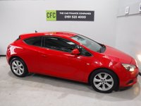 USED 2012 12 VAUXHALL ASTRA 1.4 GTC SPORT S/S 3d 118 BHP BEAUTIFUL CAR FINISHED IN GLEAMING RED FOR A REAL SPORTY LOOK, THERE HAS BEEN NO EXPENSE SPARED IN THE UP KEEP OF THIS VEHICLE WITH  DEALER SERVICE HISTORY,COMES WITH SOME AMAZING SPEC WHICH INCLUDES, CRUSE CONTROL, DUAL CLIMATE CONTROL, ELEC WINDOWS, ELEC MIRRORS, UP GRADED 18INCH ALLOYS TO LIST BUT A FEW.