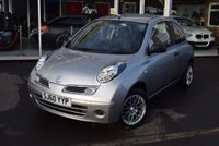 USED 2010 60 NISSAN MICRA 1.2 VISIA 3d 80 BHP FINANCE TODAY WITH NO DEPOSIT