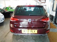 USED 2017 17 VOLKSWAGEN GOLF 1.6 GT TDI BLUEMOTION TECHNOLOGY 5d 114 BHP One owner, full service history- 2 stamps, VW warranty till 2020. Finished in Black Ruby with Black cloth and alcantara seats.