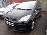USED 2005 05 MITSUBISHI COLT 1.3 EQUIPPE 5d AUTO 95 BHP **Part Exchange To Clear Sold With Faults September 2018 Mot**