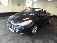 USED 2009 09 PEUGEOT 307 1.6 16v Coupe Allure Convertible Petrol Cabriolet Black BAD CREDIT FINANCE / LOW RATE FINANCE / PART EXCHANGE