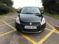 USED 2010 60 SUZUKI SWIFT 1.2 SZ3 5 door Petrol Black £30 tax Full service history BAD CREDIT FINANCE / LOW RATE FINANCE / PART EXCHANGE