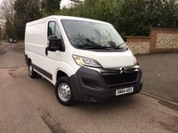 USED 2015 C CITROEN RELAY 2.2 30 L1H1 ENTERPRISE HDI 1d 109 BHP PLEASE CALL TO VIEW