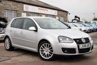 2008 VOLKSWAGEN GOLF 2.0 GT TDI 5d 138 BHP £3975.00