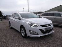 USED 2013 62 HYUNDAI I40 1.7 CRDI STYLE BLUE DRIVE 5d 134 BHP 1 OWNER, ONLY 41K WITH FULL HYUNDAI HISTORY!