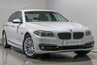 2014 BMW 5 SERIES 2.0 520D LUXURY 4d AUTO 188 BHP £14990.00