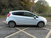 USED 2011 11 FORD FIESTA  1.4 Titanium Petrol 5 door White Bluetooth Cruise BAD CREDIT FINANCE / LOW RATE FINANCE / PART EXCHANGE