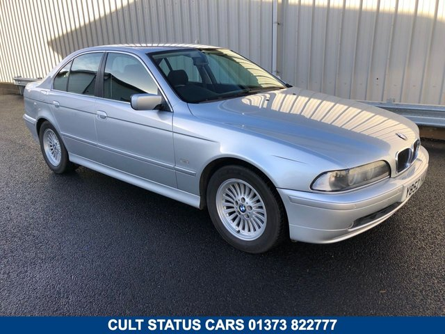2001 BMW 5 SERIES E39 2.2 520I SE SALOON AUTO 168 BHP