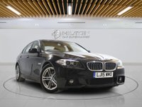 USED 2015 15 BMW 5 SERIES 3.0 530D M SPORT 4d AUTO 255 BHP + Sat/Nav, Leather Interior, Blueto