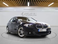 USED 2015 65 BMW 5 SERIES 2.0 520D M SPORT 4d AUTO 188 BHP + Sat/Nav, Leather Interior, Blueto
