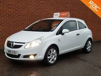 2010 VAUXHALL CORSA 1.2 ENERGY CDTI ECOFLEX 3d  HALF LEATHER - CRUISE CONTROL £SOLD