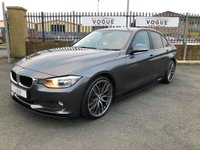 2014 BMW 3 SERIES 2.0 320D EFFICIENTDYNAMICS 4d AUTO 161 BHP £12995.00