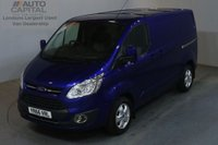 USED 2016 66 FORD TRANSIT CUSTOM 2.0 270 LIMITED 130 BHP SWB L1 H1 L/ROOF AIR CON EURO 6 VAN AIR CONDITIONING EURO 6 ENGINE