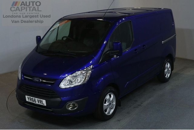 2016 66 FORD TRANSIT CUSTOM 2.0 270 LIMITED 130 BHP SWB L1 H1 L/ROOF AIR CON EURO 6 VAN AIR CONDITIONING EURO 6 ENGINE
