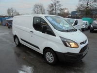 2016 FORD TRANSIT CUSTOM 2.2 290 MODEL 2016 YEAR  LOW ROOF SHORT WHEEL BASE  1 LEASE COMPANY SUPER CONDITION   FIRST YEARS MOT JUST DONE  £8700.00