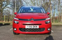 USED 2016 16 CITROEN C4 GRAND PICASSO 2.0 BLUEHDI EXCLUSIVE MPV 7 SEATS 5DR 148 BHP ONE OWNER FROM NEW
