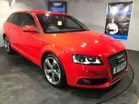 USED 2012 61 AUDI A3 2.0 SPORTBACK TDI S LINE SPECIAL EDITION 5d 138 BHP Only £30 a year road tax         :         Bluetooth         :         Audi Concert sound system      :     Part leather upholstery     :     Fully stamped service history