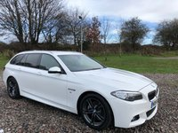 2014 BMW 5 SERIES 2.0 520D M SPORT TOURING 5d AUTO 188 BHP £13495.00