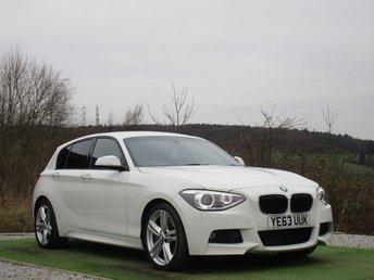 2013 BMW 1 SERIES 2.0 125D M SPORT 5d AUTO 215 BHP £13490.00