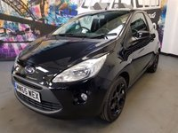 2015 FORD KA 1.2 ZETEC BLACK EDITION 3d 69 BHP £5794.00