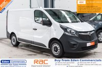 USED 2016 66 VAUXHALL VIVARO 1.6 L1H1 2700 CDTI 95 BHP *VAUXHALL WARRANTY UNTIL OCT 2019*