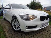 2012 BMW 1 SERIES 1.6 116D EFFICIENTDYNAMICS 5d 114 BHP £7989.00