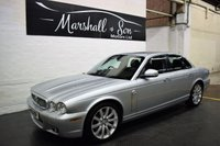 USED 2009 09 JAGUAR XJ 2.7 V6 EXECUTIVE 4d AUTO 204 BHP TOP EXECUTIVE SPEC - 7 STAMPS TO 80K MILES